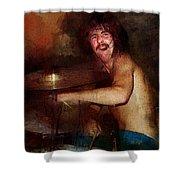 Led Zeppelin. John Henry Bonham. Shower Curtain