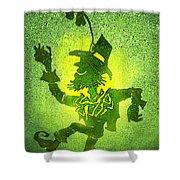Leprechaun Shower Curtain