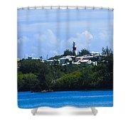 Light House Shower Curtain