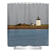 Lighthouse Provincetown  Shower Curtain