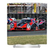 Ligier Js P3 Le Mans Prototype 3 Lmp3 Shower Curtain