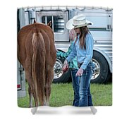 Lil' Cowgirls Shower Curtain