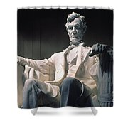 Lincoln Memorial: Statue Shower Curtain