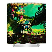 Liquicity Shower Curtain