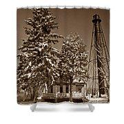 Liston Rear Range Lighthouse De Shower Curtain