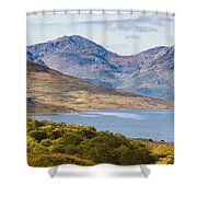 Loch Arklet And The Arrochar Alps Shower Curtain