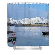 Loch Leven - Scotland Shower Curtain