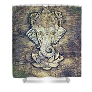 Lord Ganesha Shower Curtain