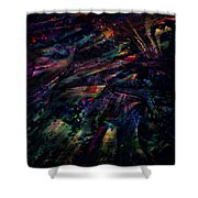 Losing Touch Shower Curtain
