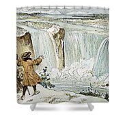 Louis Hennepin (1640-?1701) Shower Curtain