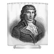 Louis Saint-just (1767-1794) Shower Curtain