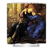 Love Among The Ruins Shower Curtain