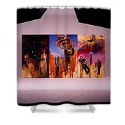 Love Hurts Shower Curtain by Charles Stuart