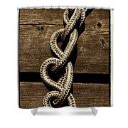 Love Knots Shower Curtain