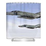 Luftwaffe F-4f Phantom II Shower Curtain