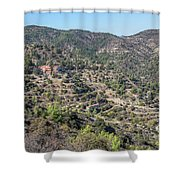 Machairas Monastery - Cyprus Shower Curtain