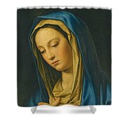 Madonna At Prayer Shower Curtain
