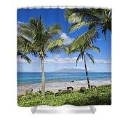 Makena, Maluaka Beach Shower Curtain