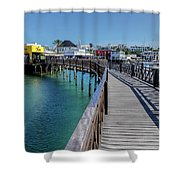 Marina Rubicon - Lanzarote Shower Curtain
