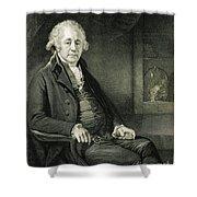 Matthew Boulton, English Manufacturer Shower Curtain