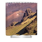 Maui, Haleakala Crater Shower Curtain