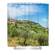 Medieval Town Of San Gimignano, Tuscany, Italy Shower Curtain