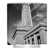 Memorial Tower - Lsu Bw Shower Curtain
