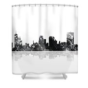 Memphis Tennessee Skyline Shower Curtain