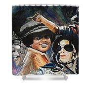 Micheal Jackson Shower Curtain