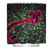 Microscopic View Of Ebola Virus Shower Curtain