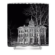 Milam County Courthouse Shower Curtain