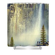 Misty Falls Shower Curtain