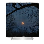 Misty Moonrise Shower Curtain