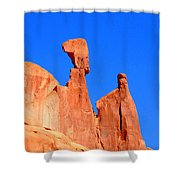 Moab Landscape Shower Curtain