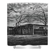 Modern Art Museum Of Fort Worth Shower Curtain