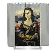 Mona Lisa Shower Curtain