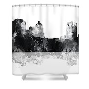 Montgomery Alabama Skyline Shower Curtain