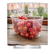 Morello Cherries Shower Curtain