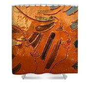 Morning - Tile Shower Curtain