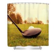 Morning Tee Shower Curtain