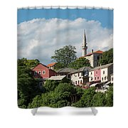 Mostar, Bosnia And Herzegovina Shower Curtain