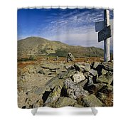Mount Washington - White Mountains New Hampshire Usa Shower Curtain