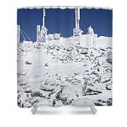 Mount Washington State Park - White Mountains New Hampshire Usa Shower Curtain