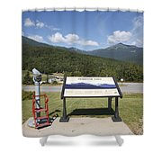 Mount Washington Valley - Gorham New Hampshire Usa Shower Curtain