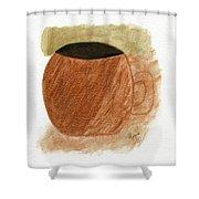 Mug Moments Shower Curtain
