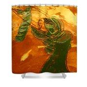 Mums Love - Tile Shower Curtain