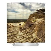 Mungo National Park, Australia Shower Curtain