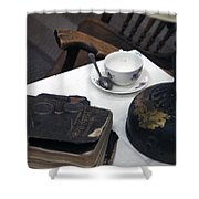 Museum Artifacts Shower Curtain