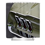 Mustang Fastback Shower Curtain