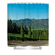 Napa Valley Shower Curtain